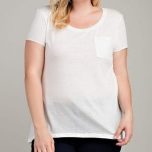 White Shirt with Pocket